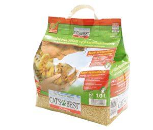 Litière Cats Best OkoPlus 10L - 4,3 kg