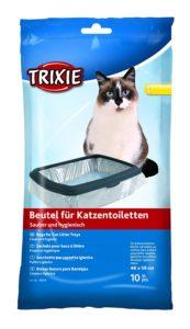 Pack de 10 Sacs pour Bac à Litière Trixie - Taille 46 x 59 cm