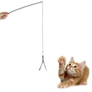 Canne à pêche avec corde élastique et clochette