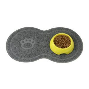 Tapis à nourriture pour les gamelles de votre chat ou chien