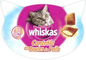 Friandises contrôle des boules de poils Whiskas
